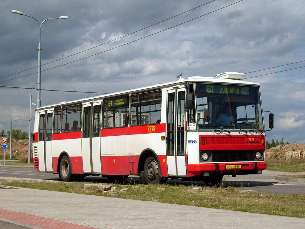 Fotogalerie » Karosa B732.1654.3 BSC 38-66 7378 | Brno | Bohunice | Kamenice