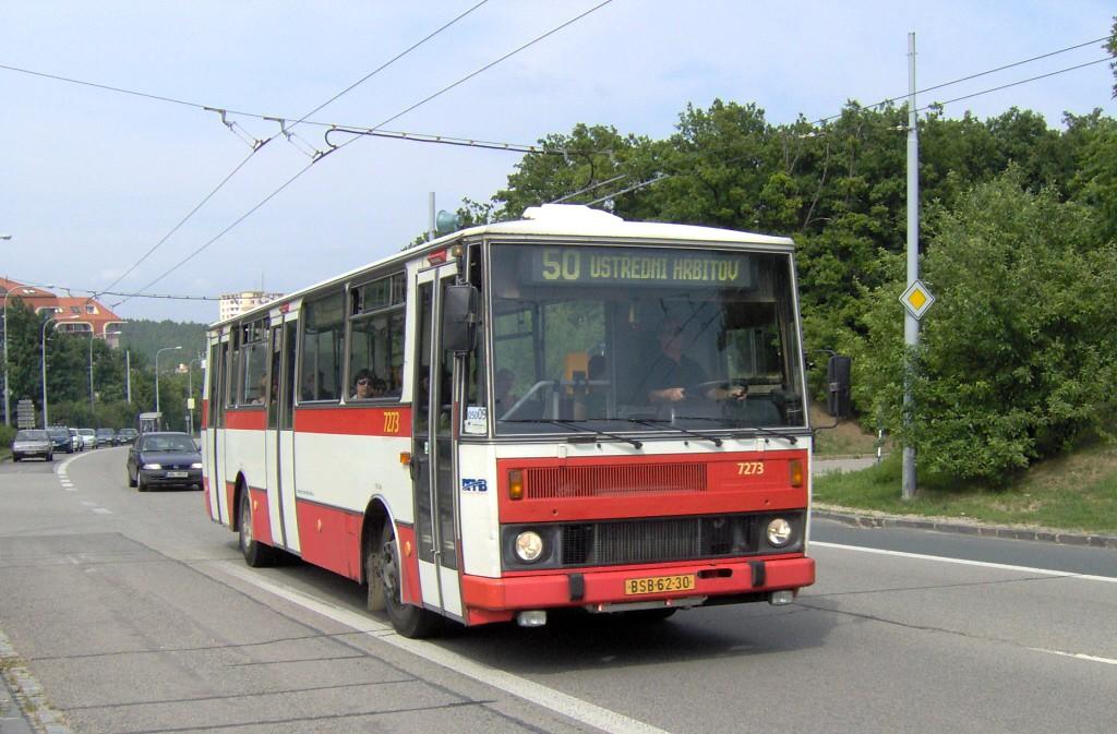 Fotogalerie » Karosa B732.40 BSB 62-30 7273   Brno   Kohoutovice   Libušina třída
