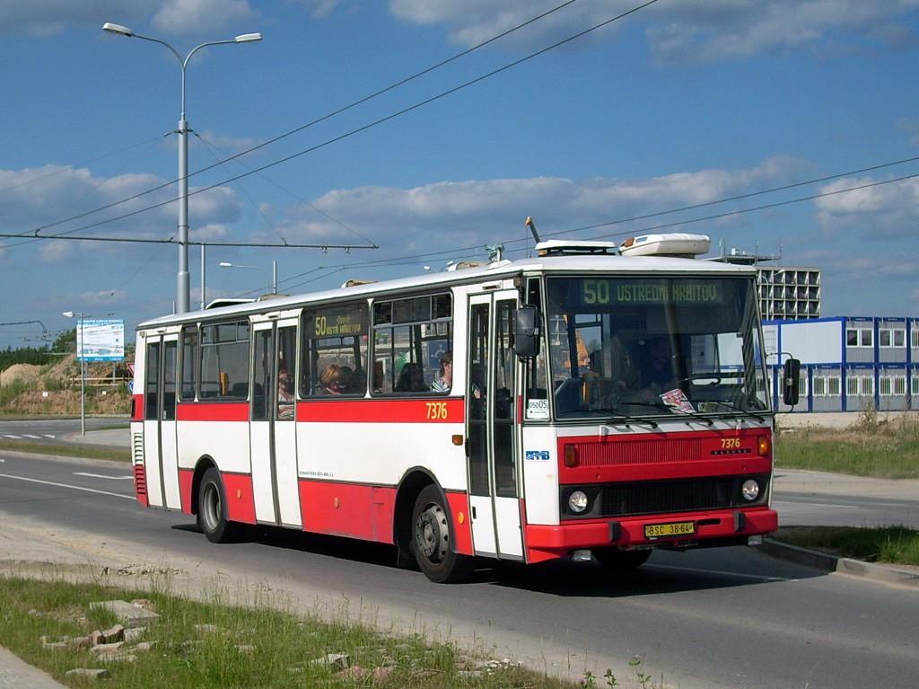 Fotogalerie » Karosa B732.1654.3 BSC 38-64 7376 | Brno | Bohunice | Kamenice