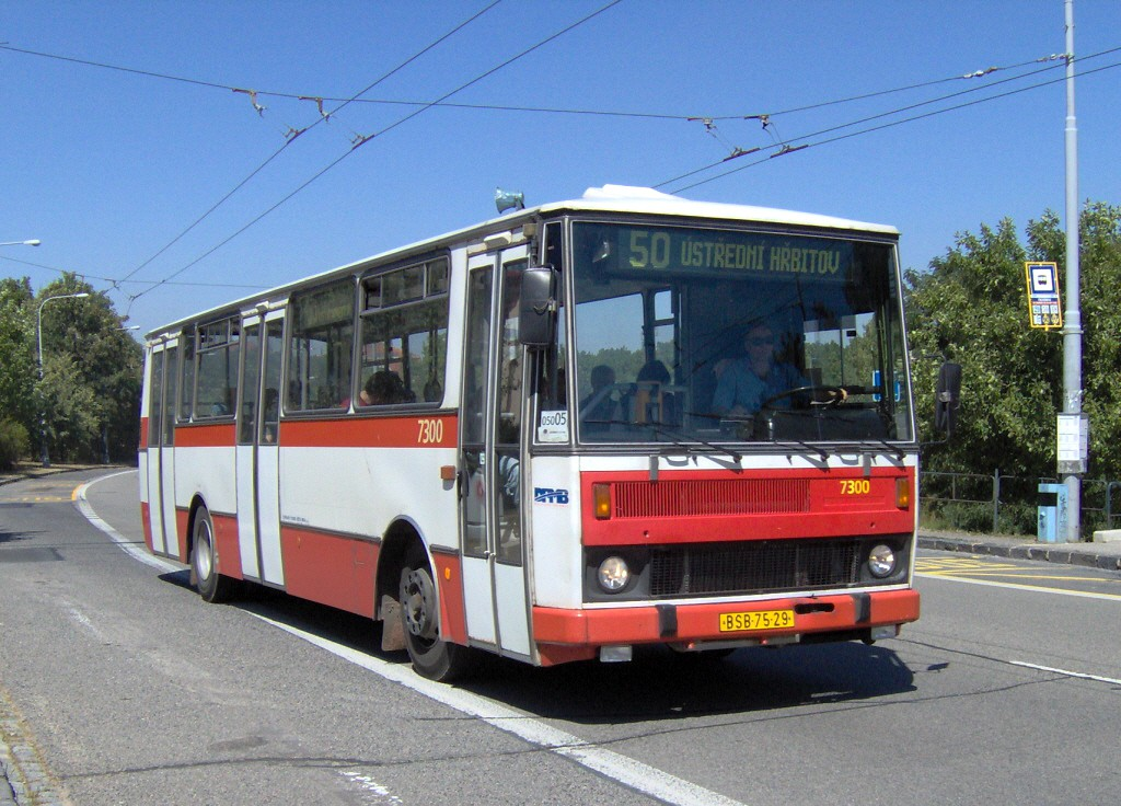 Fotogalerie » Karosa B732.1652 BSB 75-29 7300 | Brno | Kohoutovice | Libušina třída | Talichova