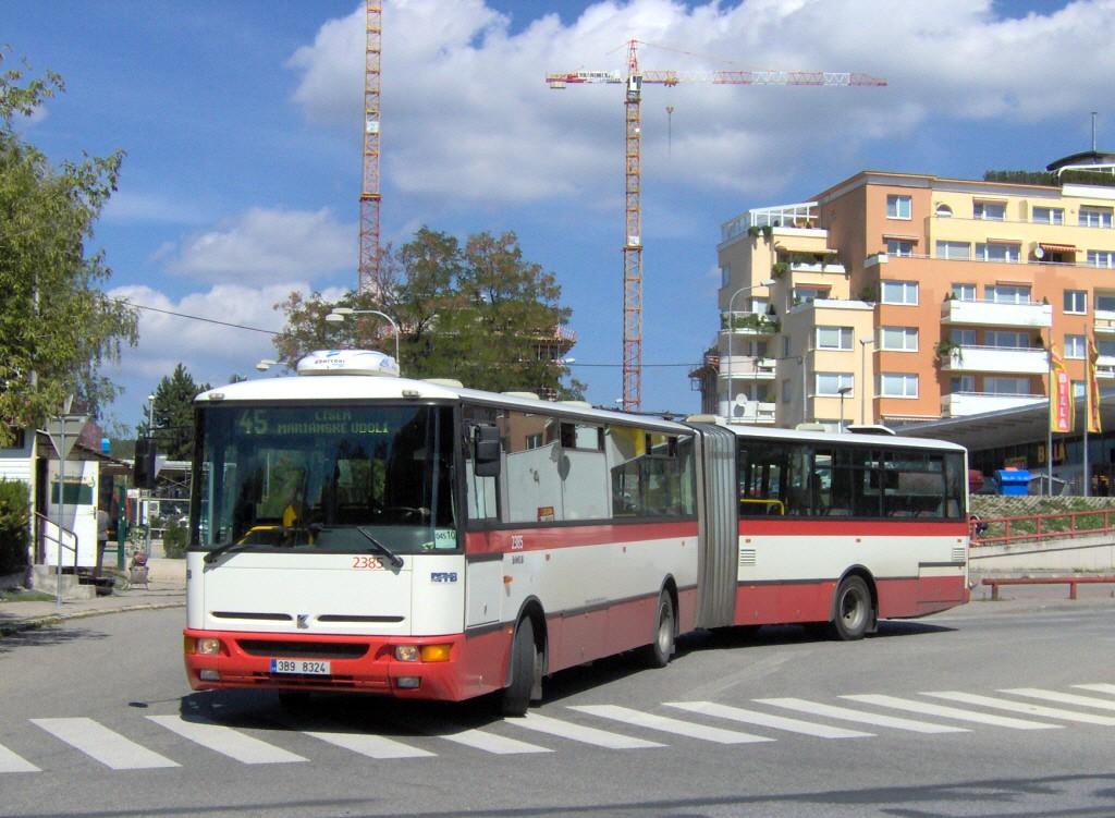 Fotogalerie » Karosa B961E.1970 3B9 8324 2385 | Brno | Lesná | Okružní | Haškova