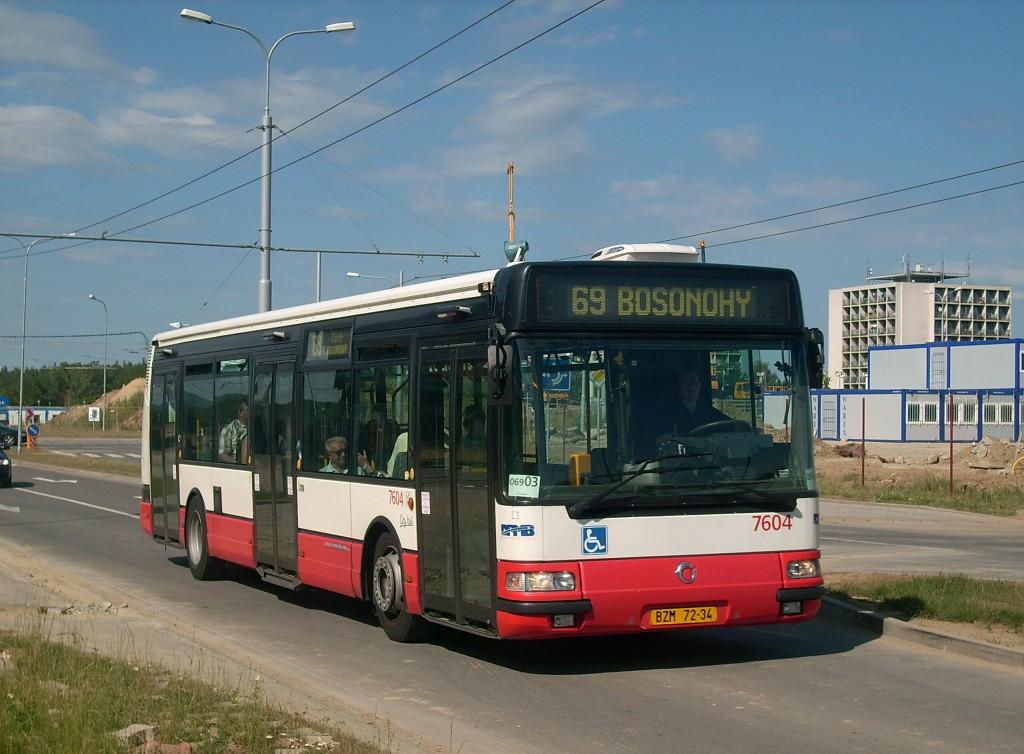 Fotogalerie » Irisbus Citybus 12M 2071.20 BZM 72-34 7604   Brno   Bohunice   Kamenice