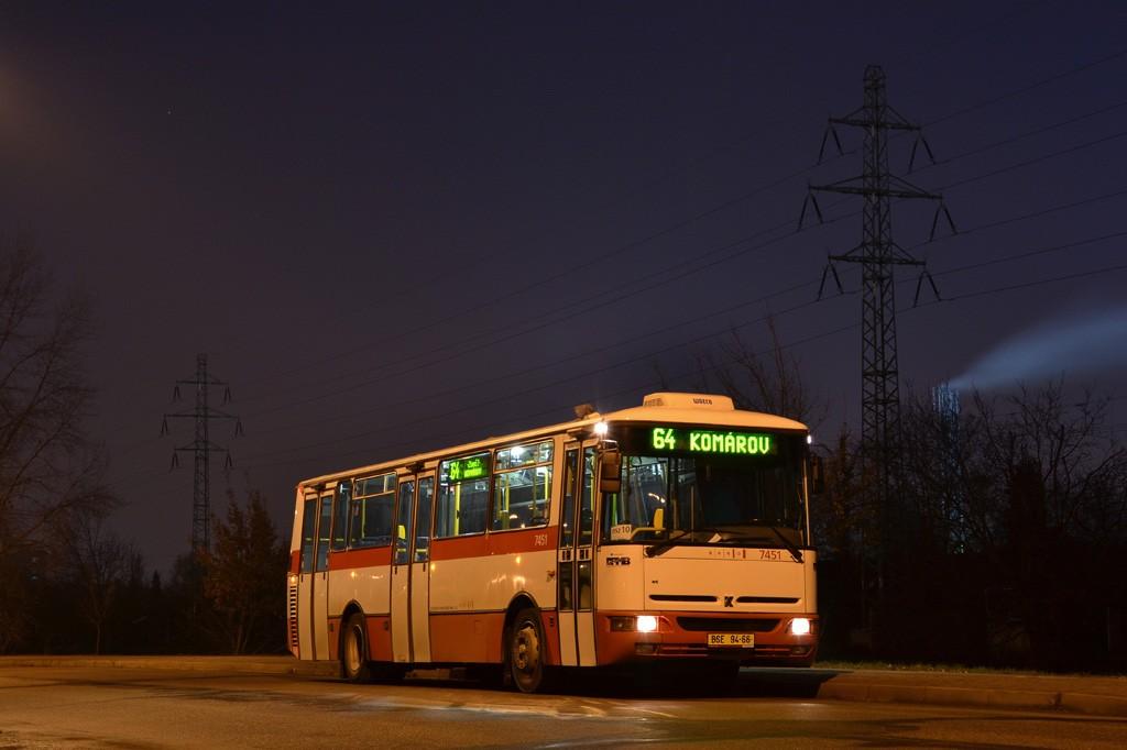 Fotogalerie » Karosa B931E.1707 BSE 94-66 7451 | Brno | Černovice | Černovické nábřeží