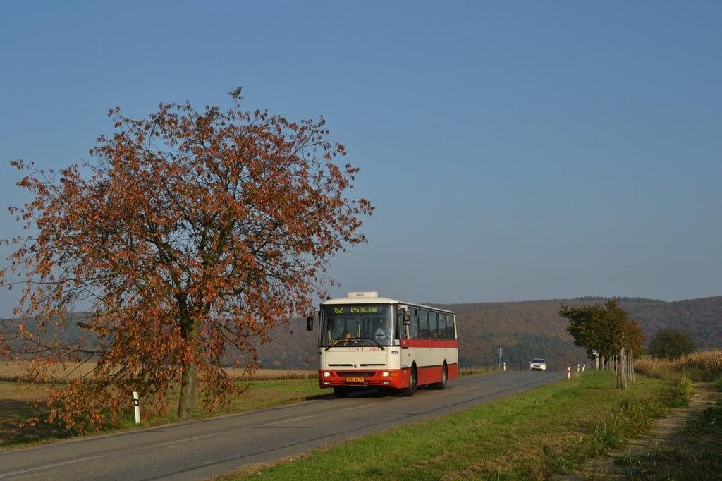 Fotogalerie » Karosa B931E.1707 BSE 94-75 7460 | Brno | Žebětín | Kohoutovická