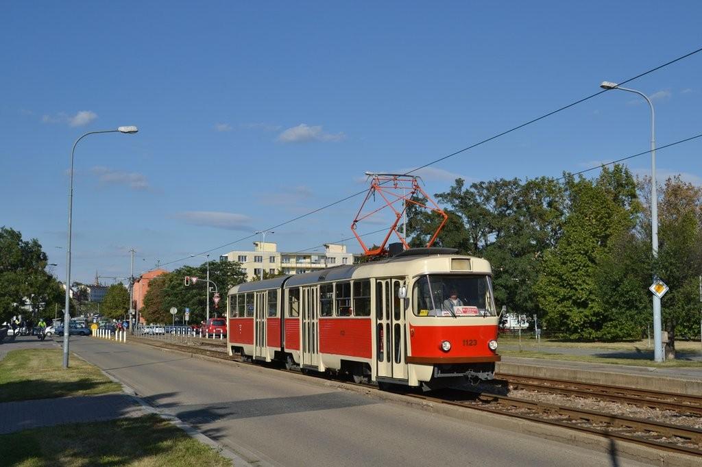 Fotogalerie » ČKD Tatra K2YU 1123 | Brno | Štýřice | Renneská