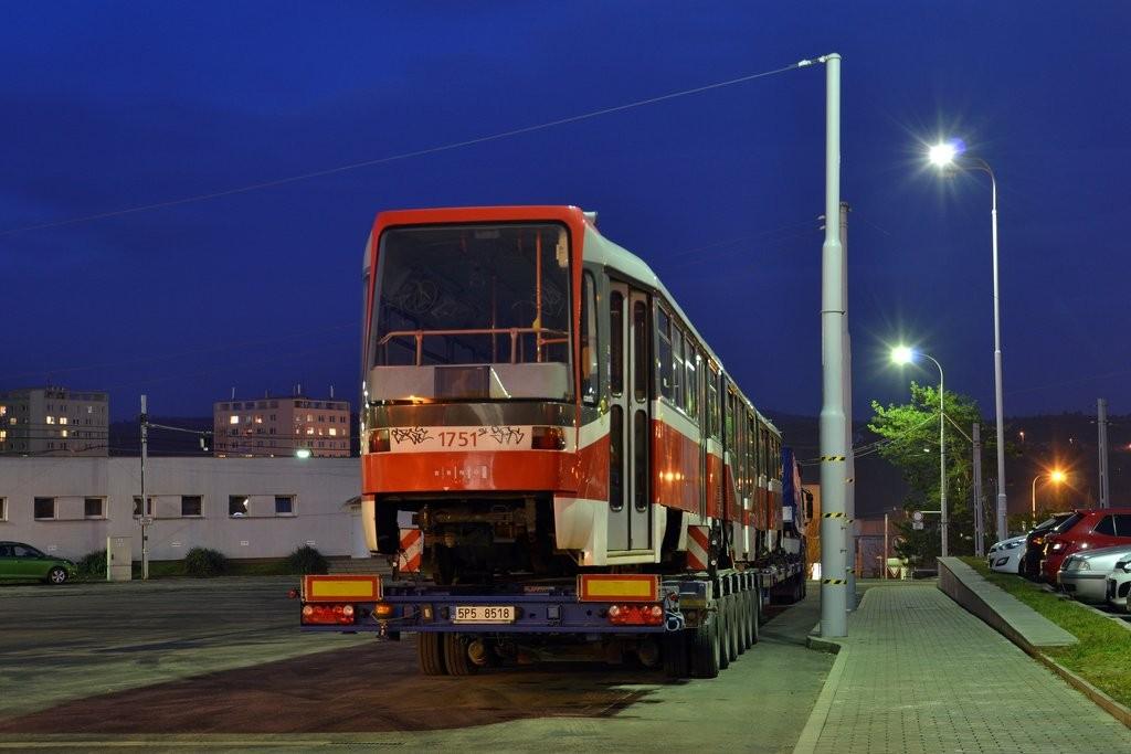 Fotogalerie » Pars Nova K3R-N 1751 | Brno | vozovna Medlánky