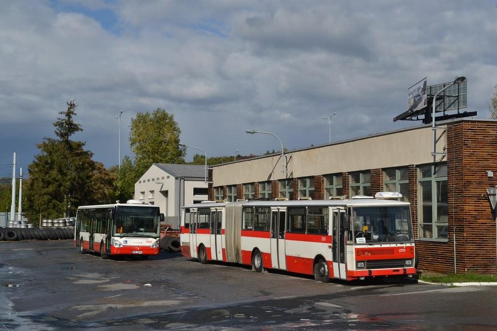 Fotogalerie » Karosa B741.1924 BSC 62-04 2315 | Irisbus Citelis 12M 6B6 6848 7660 | Brno | Vozovna Slatina