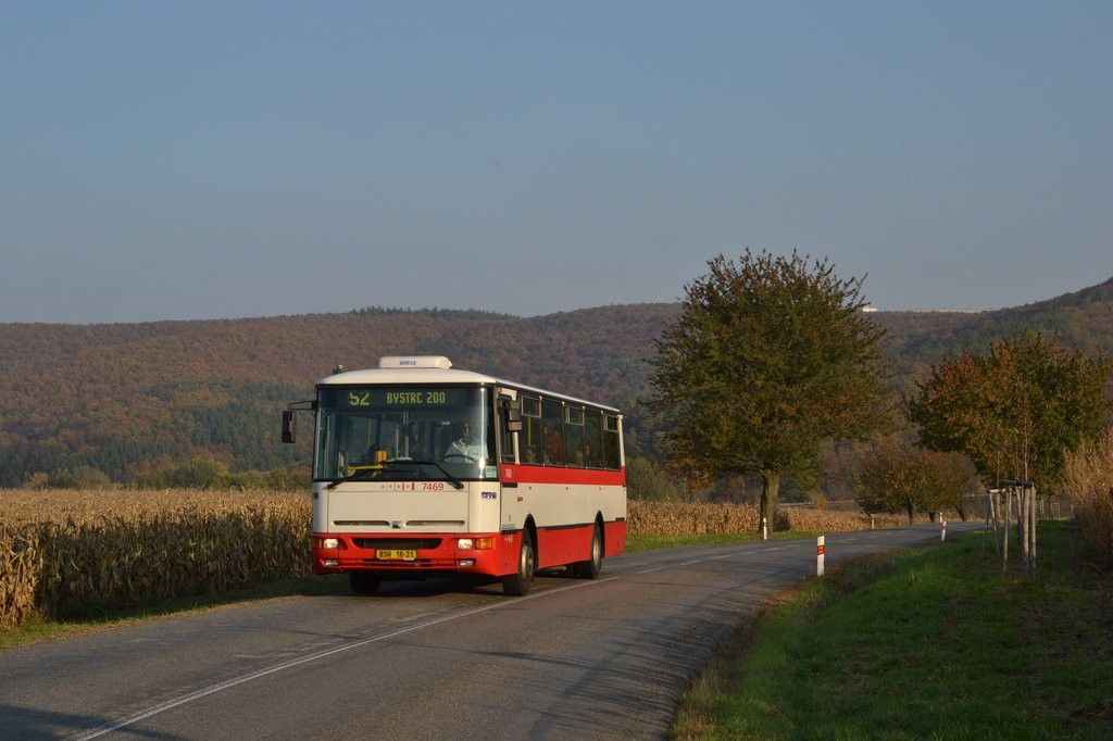 Fotogalerie » Karosa B931E.1707 BSH 16-31 7469 | Brno | Žebětín | Kohoutovická