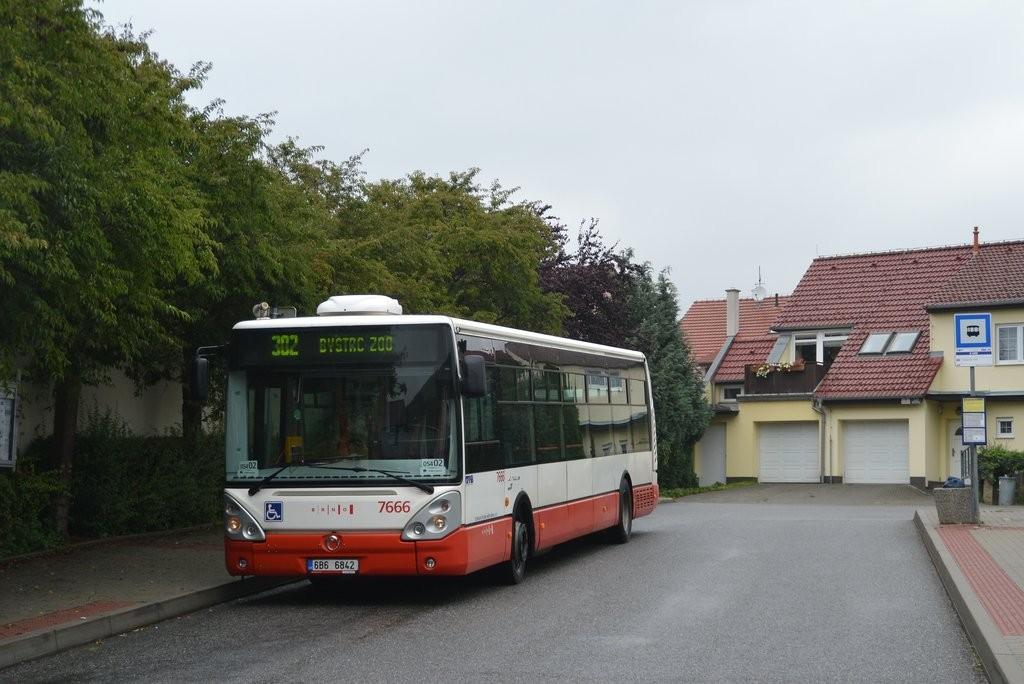 Fotogalerie » Irisbus Citelis 12M 6B6 6842 7666 | Brno | Kníničky | Hluboček | U Luhu