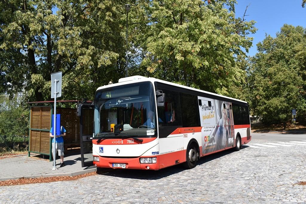 Fotogalerie » Irisbus Crossway LE 12M 7B3 3912 7802 | Vranov | Březina | Vranov, myslivna