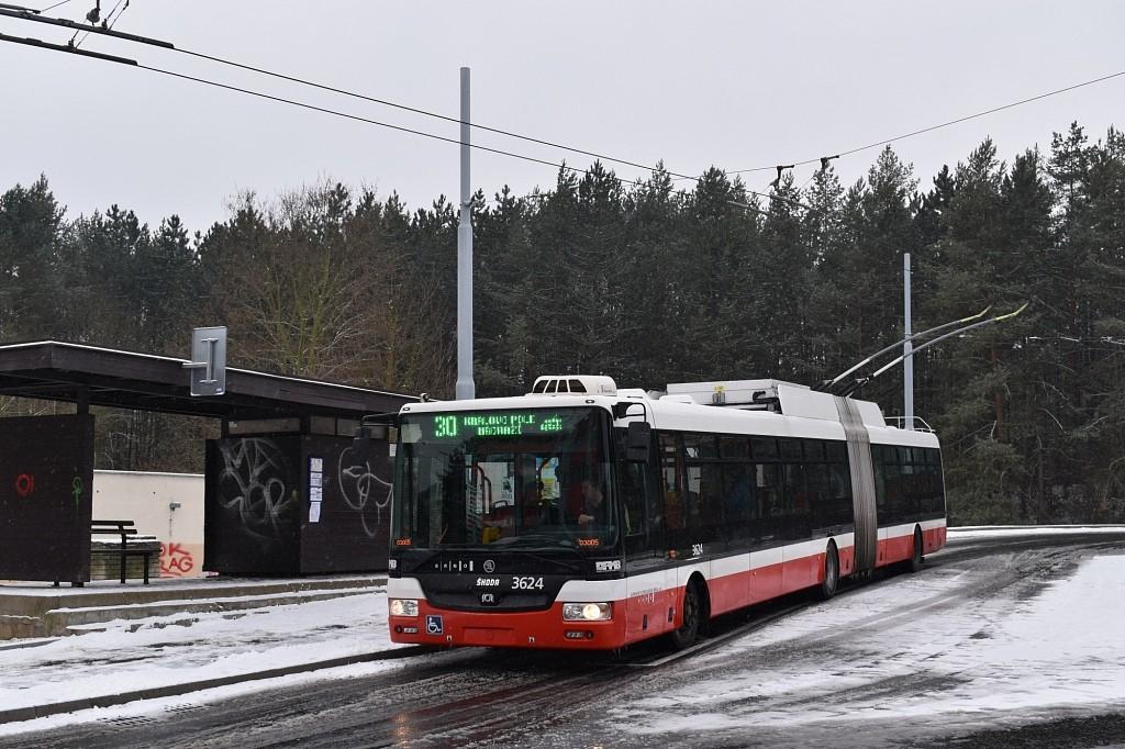 Fotogalerie » Škoda 31Tr 3624 | Brno | Bystrc | Černého