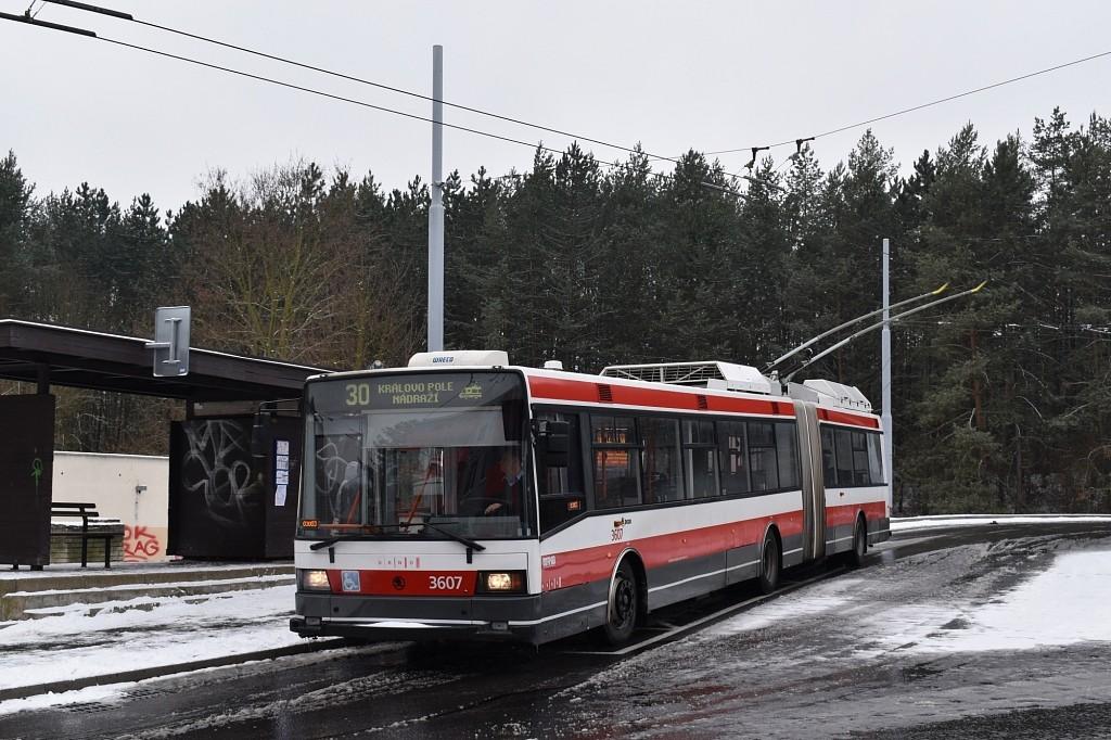 Fotogalerie » Škoda 22Tr 3607   Brno   Bystrc   Černého