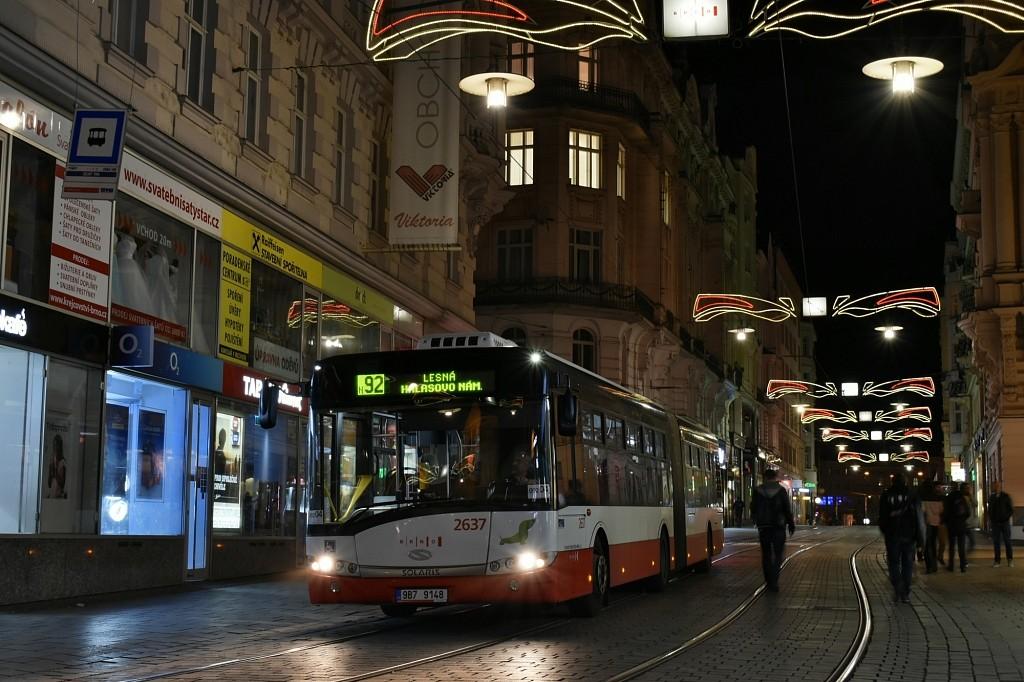 Fotogalerie » Solaris Urbino 18 III 9B7 9148 2637 | Brno | střed | Masarykova | Zelný trh
