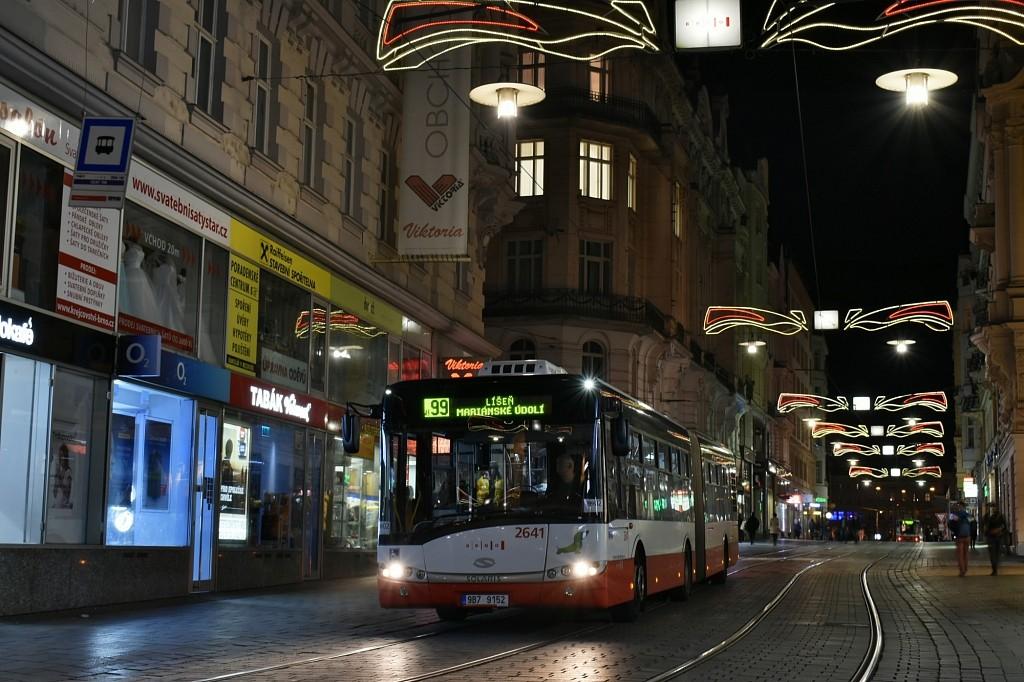 Fotogalerie » Solaris Urbino 18 III 9B7 9152 2641 | Brno | střed | Masarykova | Zelný trh