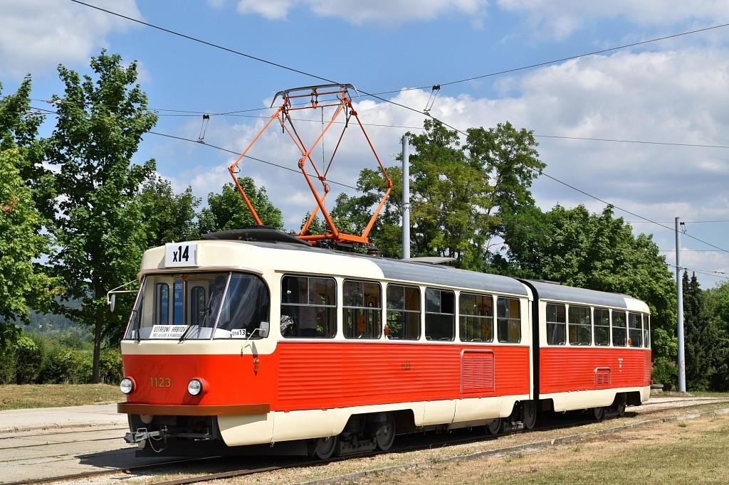 Fotogalerie » ČKD Tatra K2YU 1123 | Brno | Bystrc | Rakovecká
