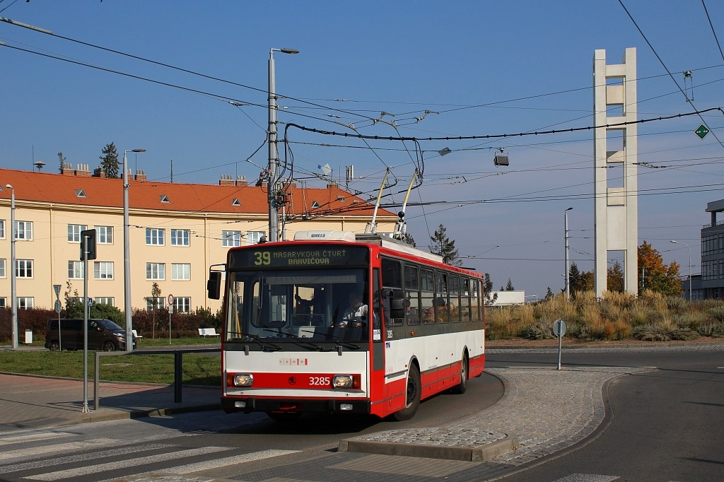 Fotogalerie » Škoda 14Tr17/6M 3285 | Brno | Masarykova čtvrť | Vaňkovo náměstí