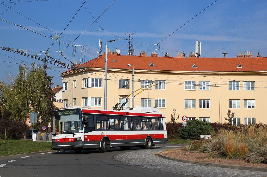 Fotogalerie » Škoda 21Tr 3010 | Brno | Masarykova čtvrť | Vaňkovo náměstí