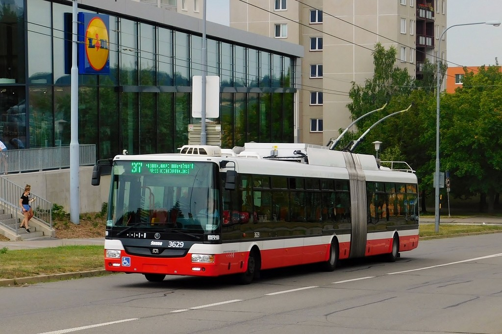Fotogalerie » Škoda 31Tr 3629 | Brno | Starý Lískovec | Osová