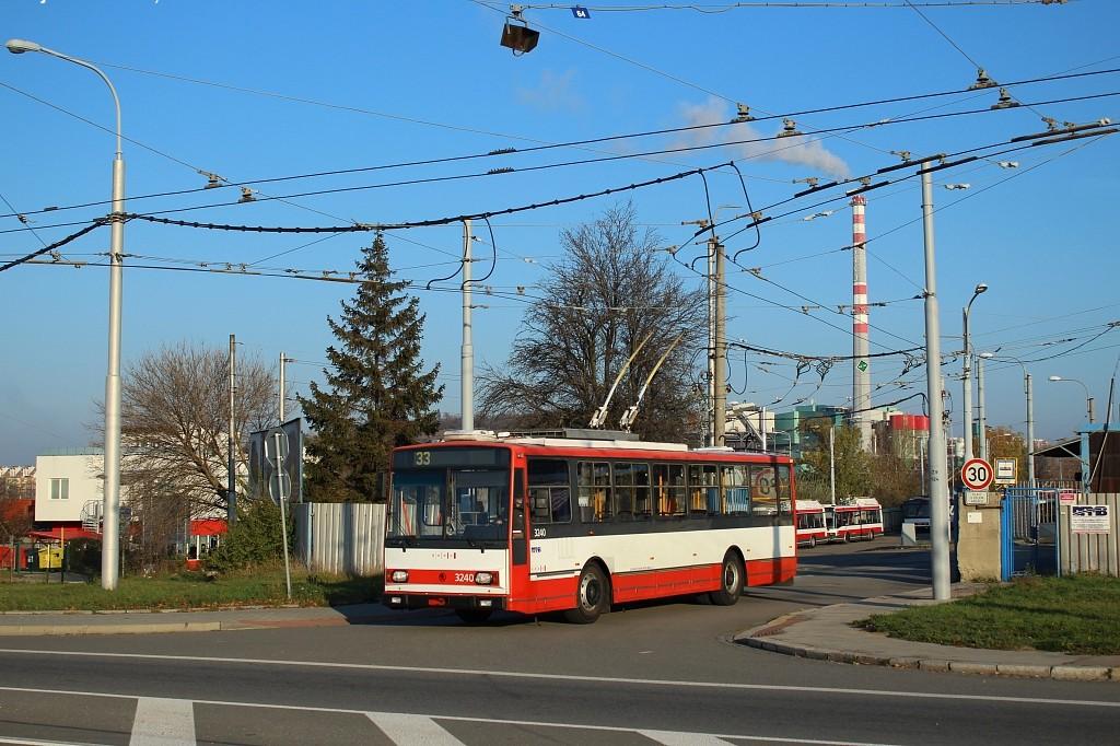Fotogalerie » Škoda 14TrR 3240 | Brno | Slatina | Hviezdoslavova