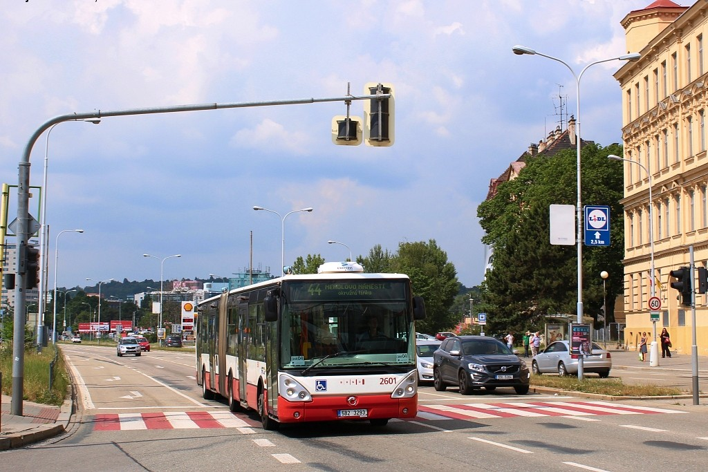 Fotogalerie » Irisbus Citelis 18M 5B2 3293 2601 | Brno | Trnitá | Opuštěná