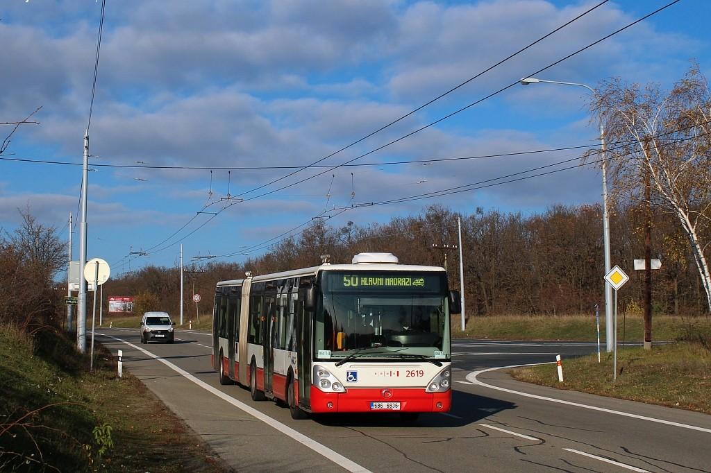 Fotogalerie » Irisbus Citelis 18M 6B6 6836 2619 | Brno | Kohoutovice | Chironova