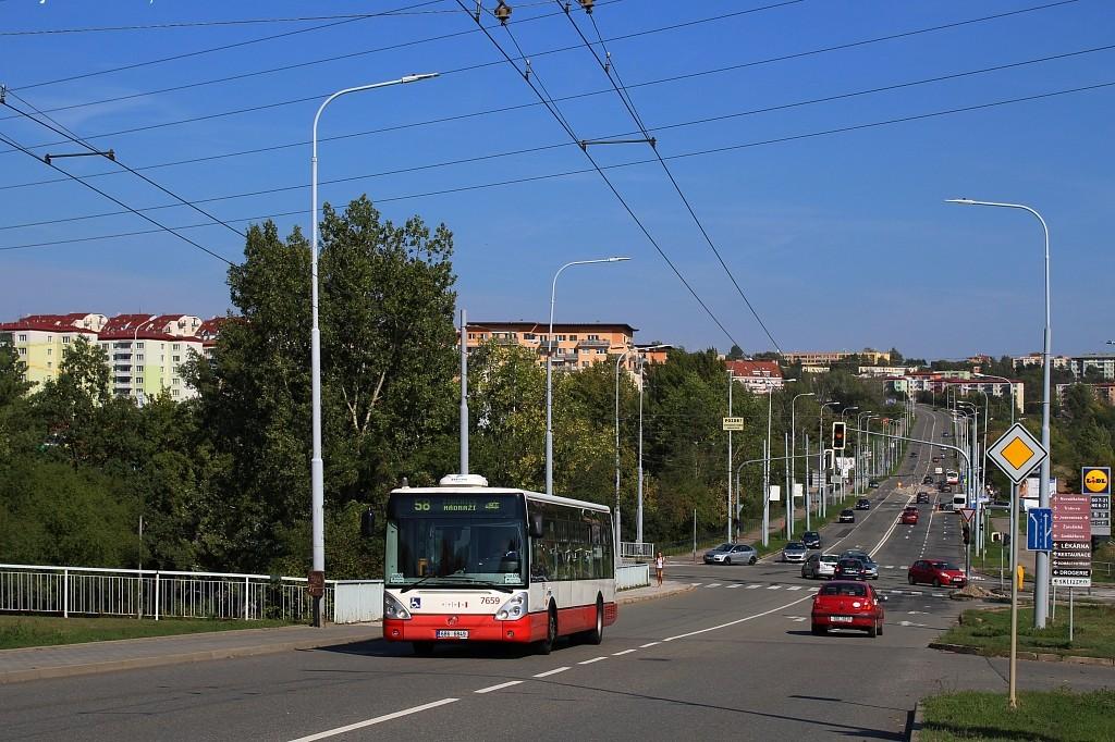 Fotogalerie » Irisbus Citelis 12M 6B6 6849 7659 | Brno | Líšeň | Křtinská
