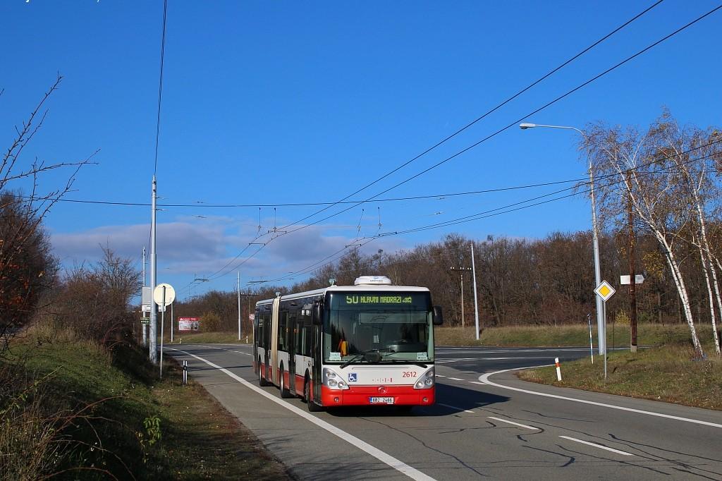 Fotogalerie » Irisbus Citelis 18M 6B2 2466 2612 | Brno | Kohoutovice | Chironova