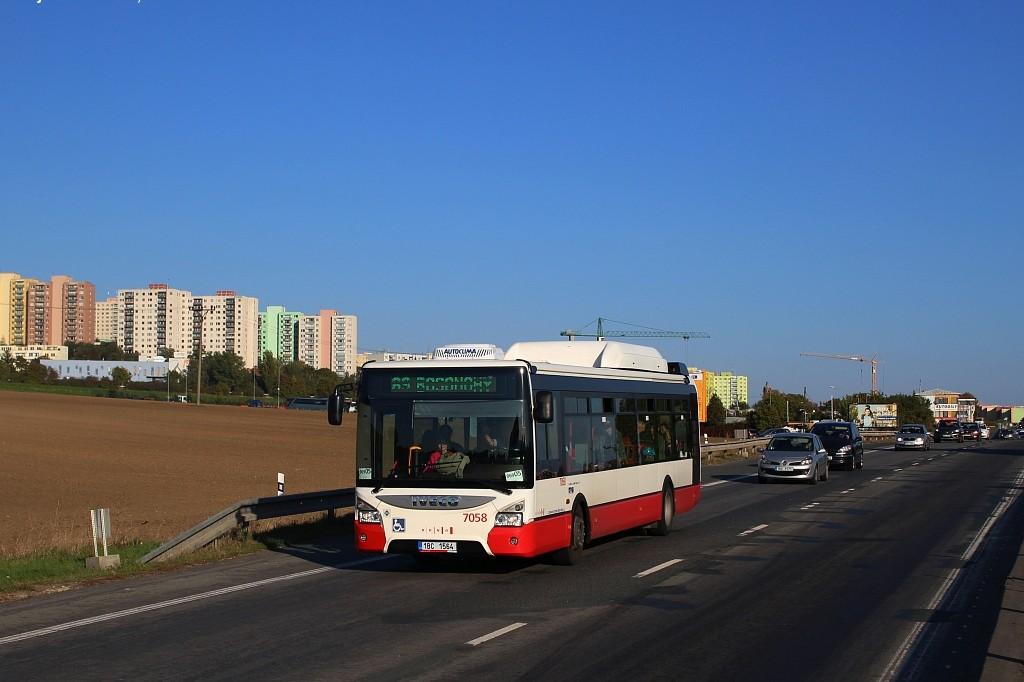 Fotogalerie » Iveco Urbanway 12M CNG 1BC 1564 7058 | Brno | Bosonohy | Pražská