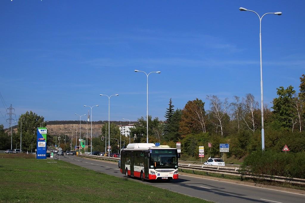 Fotogalerie » Iveco Urbanway 12M CNG 1BC 7541 7092 | Brno | Líšeň | Jedovnická