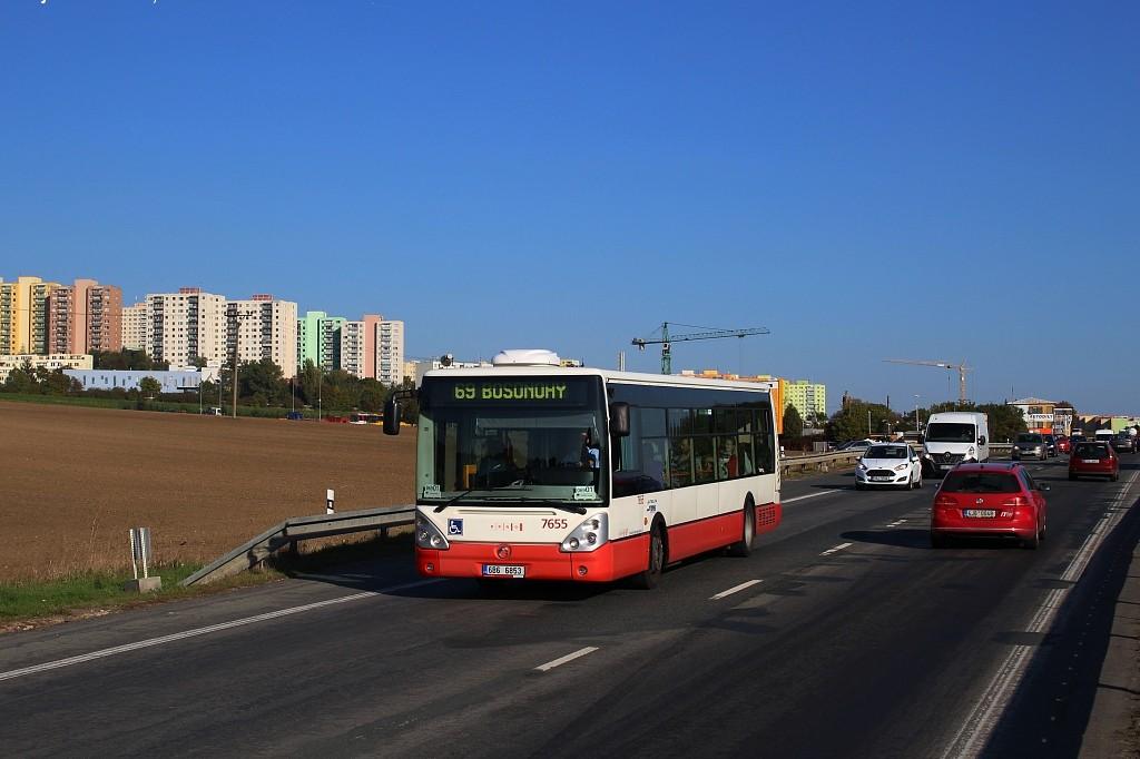 Fotogalerie » Irisbus Citelis 12M 6B6 6853 7655 | Brno | Bosonohy | Pražská