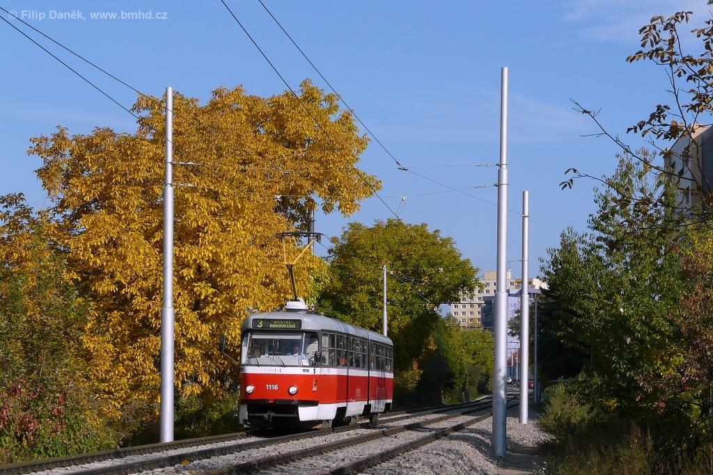 Fotogalerie » ČKD Tatra K2P 1116 | Brno | Žabovřesky | Sochorova