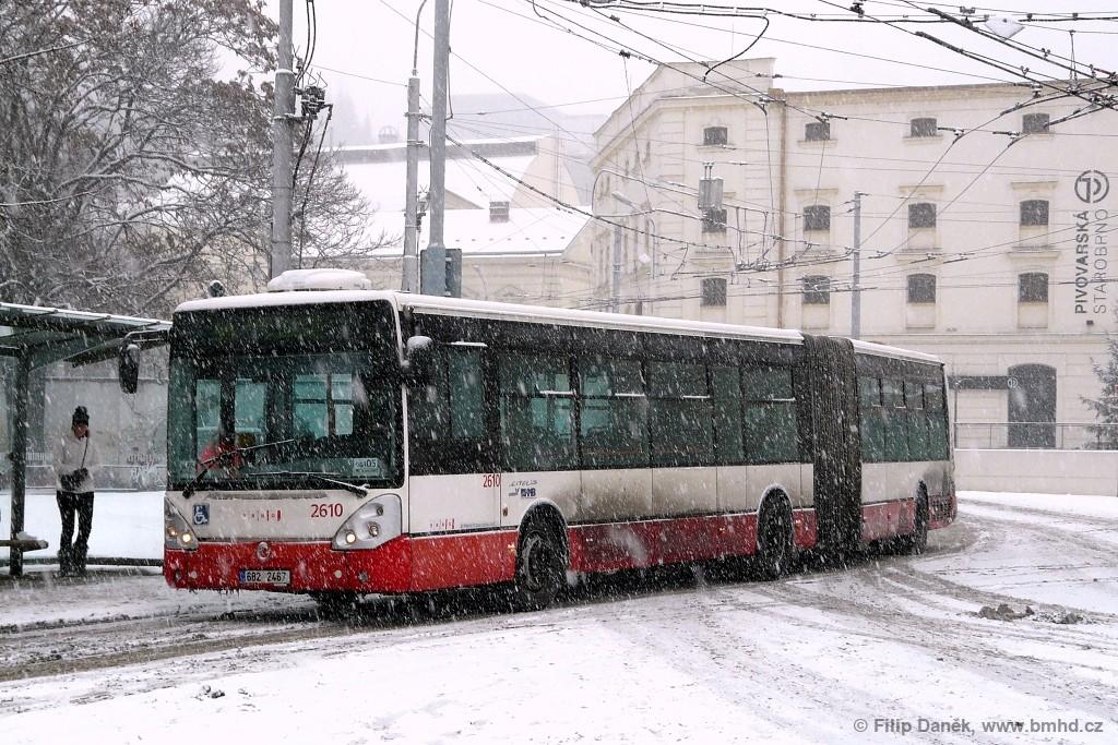 Fotogalerie » Irisbus Citelis 18M 6B2 2467 2610 | Brno | Staré Brno | Mendlovo náměstí | Mendlovo náměstí
