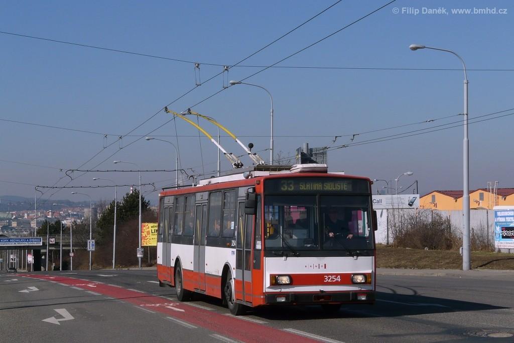 Fotogalerie » Škoda 14TrR 3254 | Brno | Černovice | Olomoucká