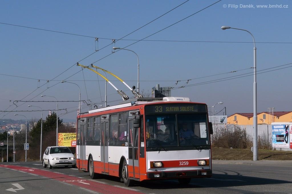 Fotogalerie » Škoda 14Tr14 3259 | Brno | Černovice | Olomoucká