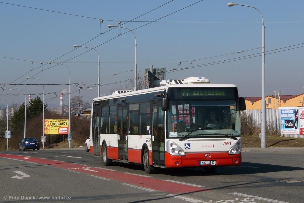 Fotogalerie » Irisbus Citelis 12M 5B7 4533 7651 | Brno | Černovice | Olomoucká
