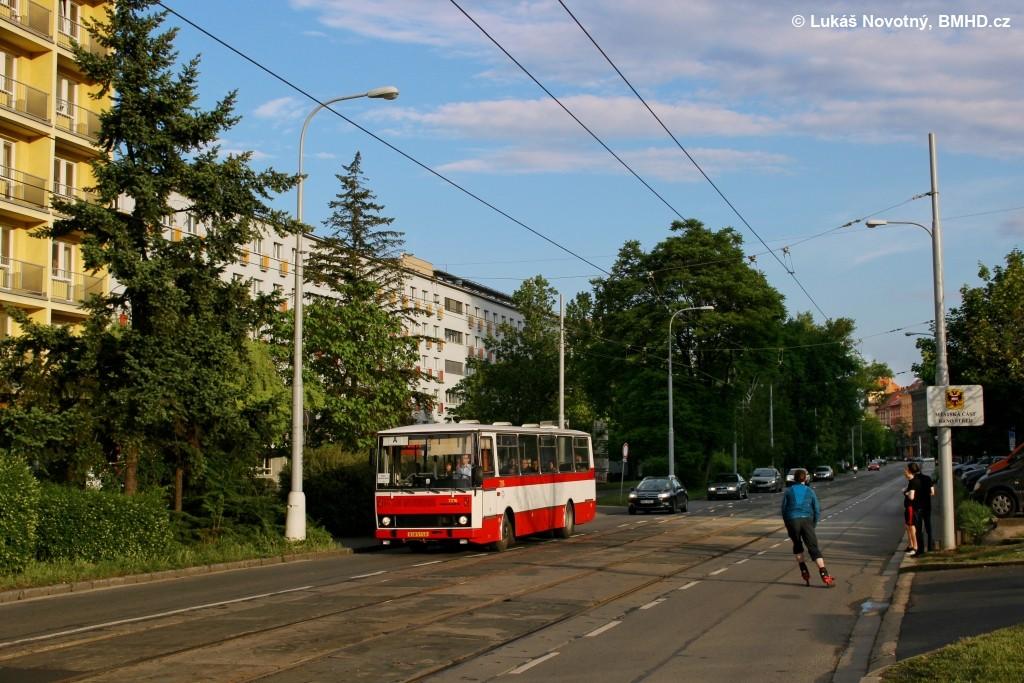 Fotogalerie » Karosa B732.20 BSB 51-56 7216 | Brno | střed | Kounicova