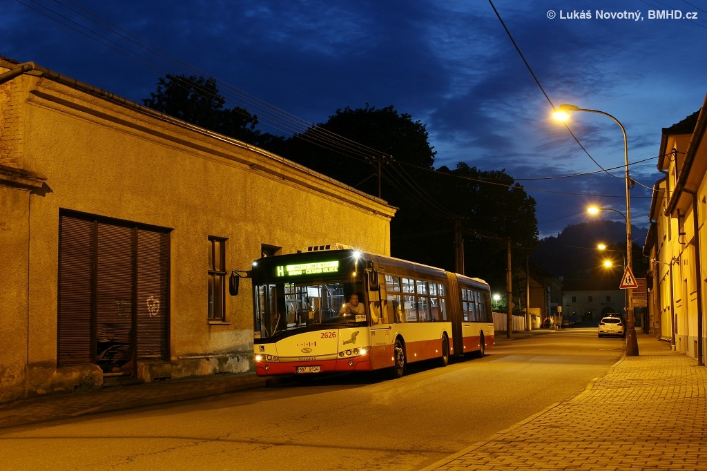 Fotogalerie » Solaris Urbino 18 III 9B7 9134 2626 | Předklášteří | Kmenského