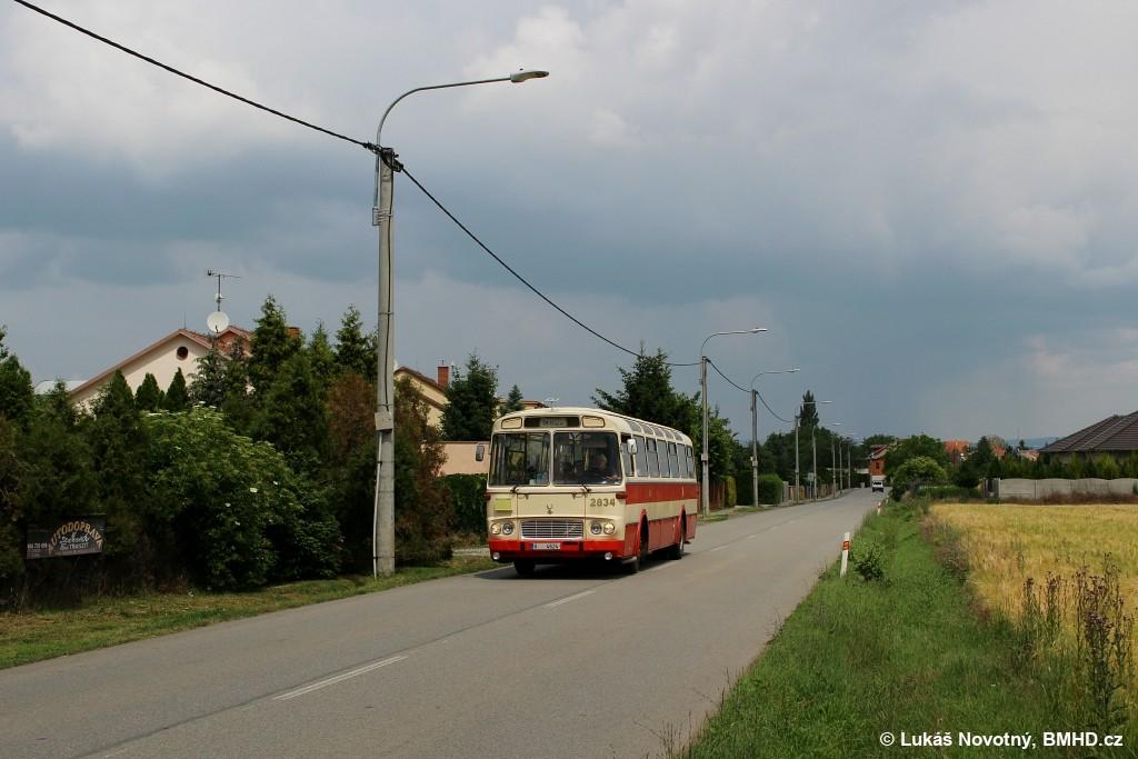 Fotogalerie » Karosa ŠM11.1630MOC V 4624 2834 | Brno | Přízřenice | Modřická