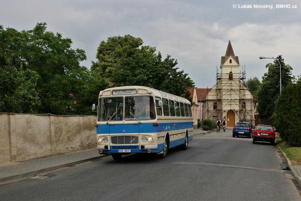Fotogalerie » Karosa ŠL11.1305 02V 0517 | Brno | Přízřenice | Břeclavská