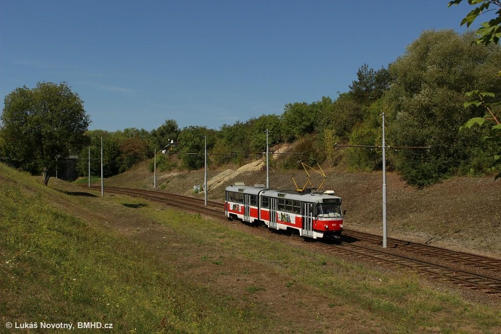 Fotogalerie » ČKD Tatra K2T 1033 | Brno | Bystrc