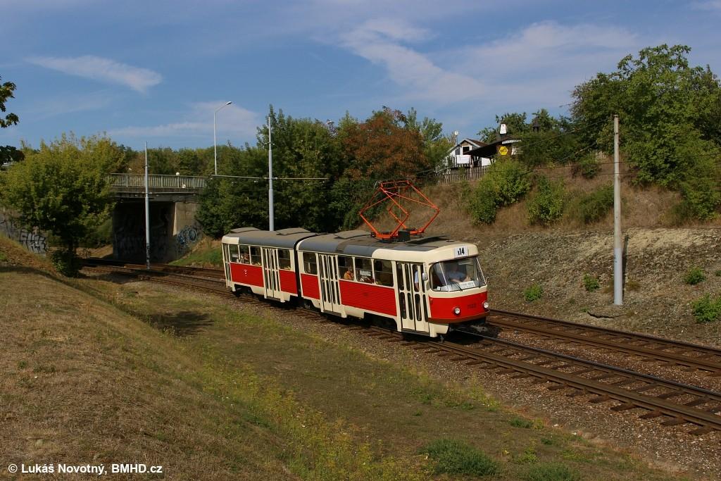 Fotogalerie » ČKD Tatra K2YU 1123   Brno   Bystrc