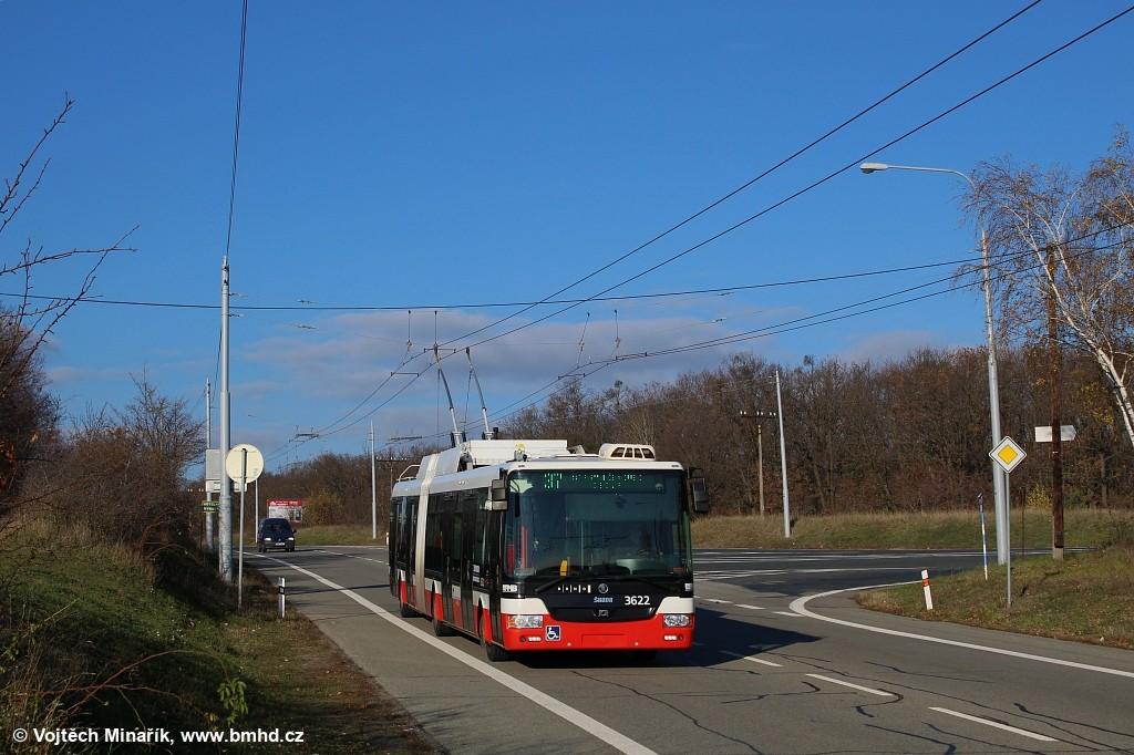 Fotogalerie » Škoda 31Tr 3622 | Brno | Kohoutovice | Chironova
