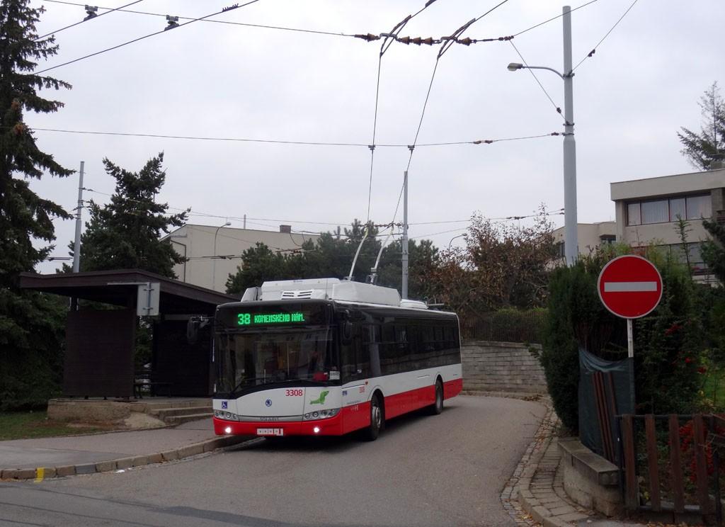 Fotogalerie » Škoda 26Tr 3308 | Brno | Masarykova čtvrť | Preslova | Preslova