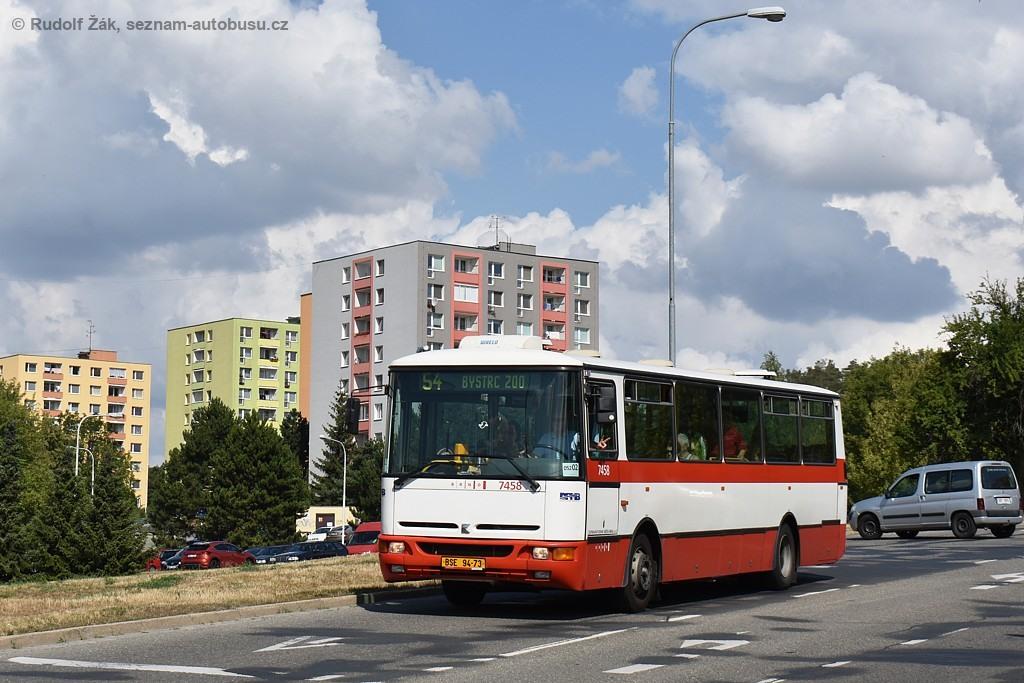 Fotogalerie » Karosa B931E.1707 BSE 94-73 7458 | Brno | Bystrc | Vejrostova