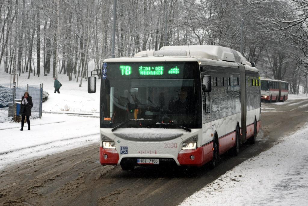 Fotogalerie » Iveco Urbanway 18M CNG 1BZ 7155 2030 | Brno | Židenice | Líšeňská