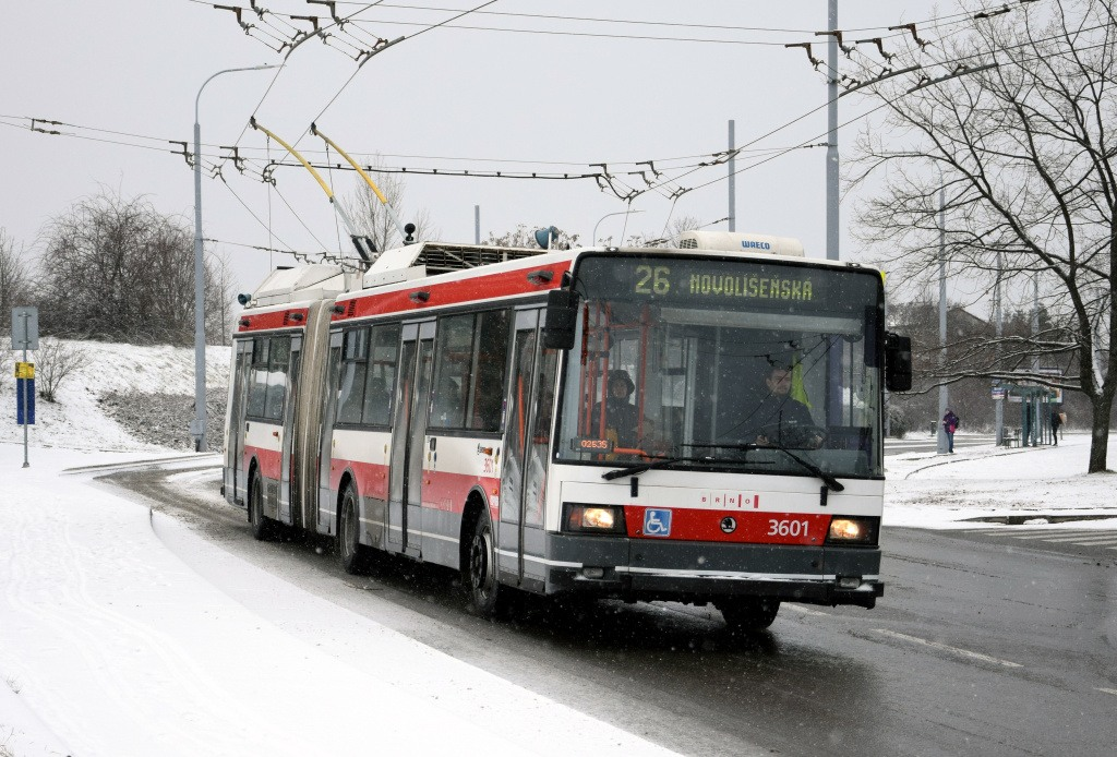 Fotogalerie » Škoda 22Tr 3601 | Brno | Vinohrady | Věstonická | Čejkovická