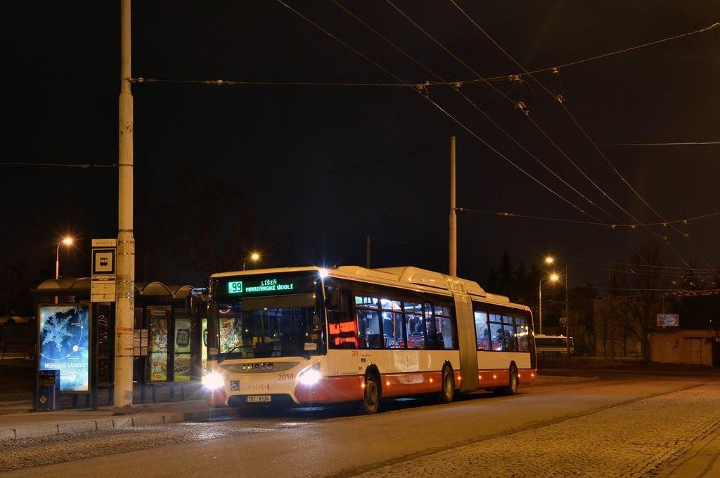 Fotogalerie » Iveco Urbanway 18M CNG 1BT 8134 2014   Brno   Židenice   Stará Osada