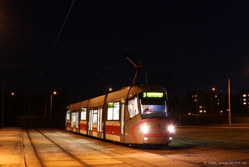 Fotogalerie » Škoda 13T0 1902 | Brno | Bystrc | Rakovecká | Rakovecká, smyčka