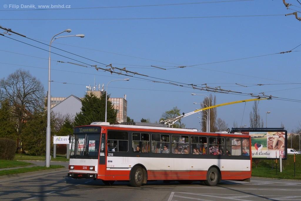 Fotogalerie » Škoda 14Tr08/6 3218 | Brno | Slatina | Hviezdoslavova