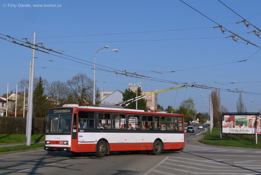 Fotogalerie » Škoda 14Tr08/6 3231 | Brno | Slatina | Hviezdoslavova